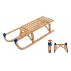VT Sport Folding Davos 100 Wooden Sledge